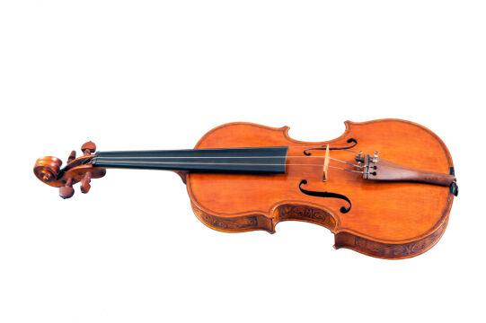 Dziadek premiera wykonał te skrzypce na 5 lat przed śmiercią