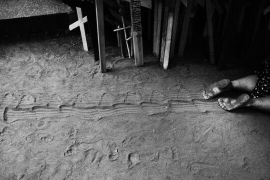 """Zdjęcie pojedyncze - II miejsce w kategorii ŻYCIE CODZIENNE, Jacek Świerczyński, """"Dziennik Wschodni"""",Podlasie. Święta Góra Grabarka jest dla prawosławnych wiernych tym, czym Jasna Góra dla katolików."""