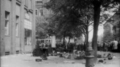 Zniszczenia na poznańskich ulicach