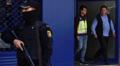Kolejni hiszpańscy piłkarze aresztowani.