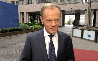 """Donald Tusk: jestem przyzwyczajony do """"win Tuska"""""""