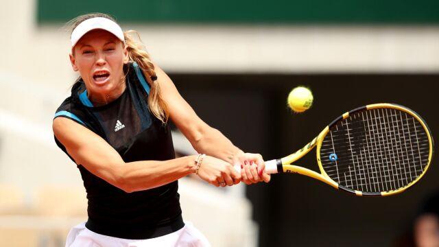 Wozniacki wygrała siedem pierwszych gemów, ale zeszła z kortu pokonana