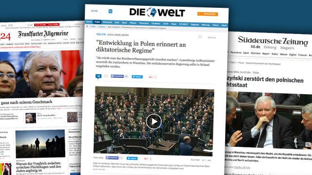 Niemieckie media: Polsce grozi dyktatura narodowo-konserwatywna. Unia musi szybko odpowiedzieć