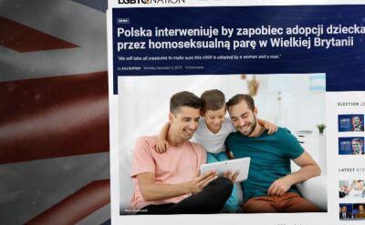 Dziecko odebrane Polce ma trafić do adopcji do pary homoseksualistów