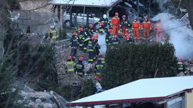 W zgliszczach znaleźli ciała ośmiu osób. Wśród ofiar czworo dzieci