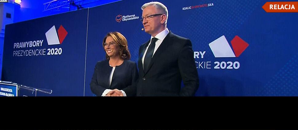 """""""Łączy nas coś więcej niż anty-PiS"""". Kidawa-Błońska i Jaśkowiak w debacie prawyborczej"""