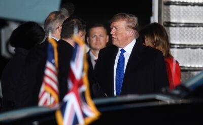 Trump przybył do Londynu na szczyt NATO