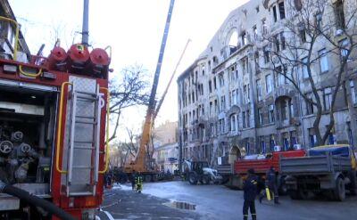Wzrósł bilans ofiar śmiertelnych pożaru w szkole w Odessie
