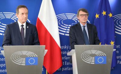Grodzki spotkał się z szefem PE