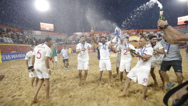Dziesięć goli w finale, potem szaleństwo. Portugalczycy mistrzami świata na plaży
