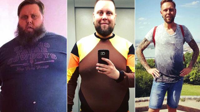 """""""To już nie było życie, to była wegetacja"""". Schudł ponad 160 kilo"""
