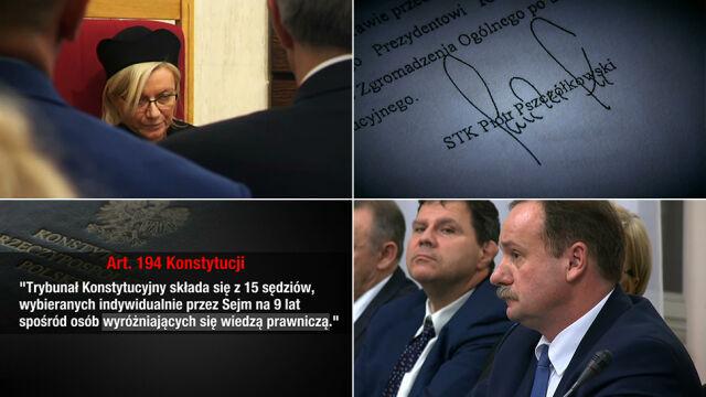 """Brak uchwały, bunt """"sędziego PiS"""". Kulisy powołania nowej prezes TK"""