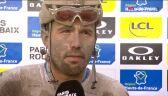 Colbrelli po wygraniu Paryż-Roubaix 2021