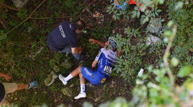 Nie wszystko idzie zgodnie z planem. Powrót zwycięzcy Tour de Pologne opóźniony