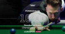 Championship League na żywo w Eurosporcie 1 i Eurosport Playerze