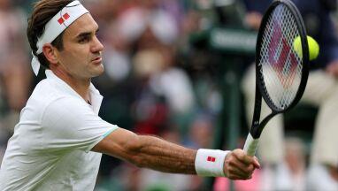 Federer był w opałach. Uraz i krecz rywala