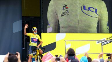 Koszulkę lidera zadedykował zmarłemu dziadkowi. Z Tour de France rezygnuje przed jego końcem