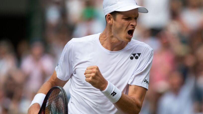 Bezdyskusyjne zwycięstwo Hurkacza. Polak w trzeciej rundzie Wimbledonu