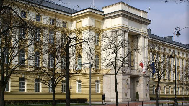 Dron nad rządowymi budynkami. Zatrzymany obywatel Rosji