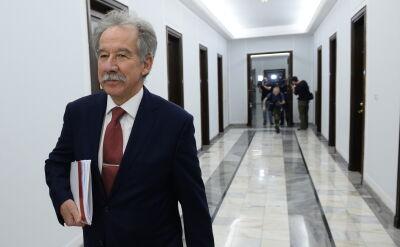 Spotkanie marszałka Sejmu z szefem PKW przed debatą w sprawie ordynacji wyborczej
