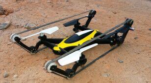 Dron na gąsienicach