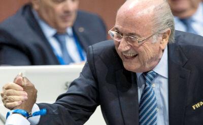 Blatter się nie poddaje