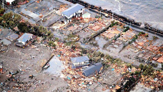 Ogromne zniszczenia w Japonii