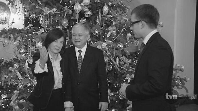 Wspomnienie o Lechu i Marii Kaczyńskich (TVN24)