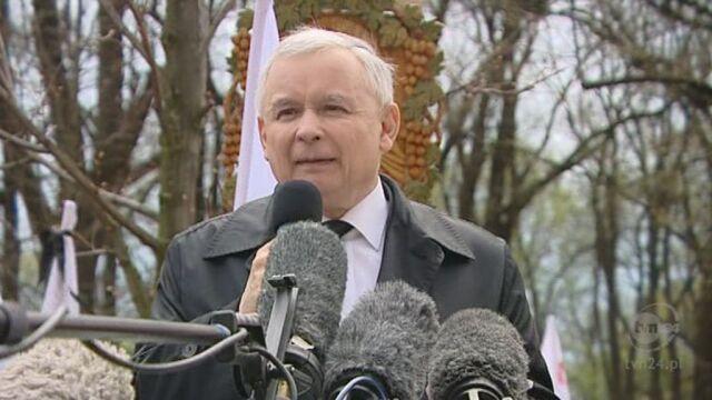Całe przemówienie Jarosława Kaczyńskiego (TVN24)