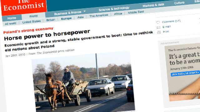 """The Economist"": Czas porzucić stereotypy o Polsce"