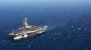 Amerykański lotniskowiec wpłynął do Zatoki