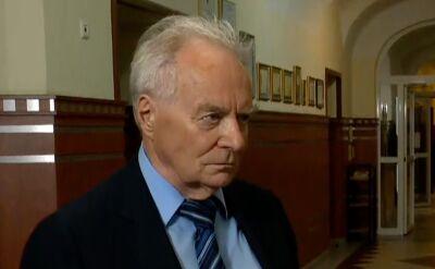 Profesor Stanisław Waltoś o swojej obecności na liście Kancelarii Prezydenta