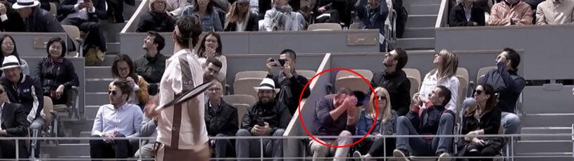 Frustracja Federera. Kibic aż zgubił czapkę