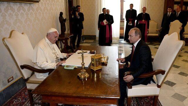Franciszek spotka się z Putinem. Stolica Apostolska podała datę