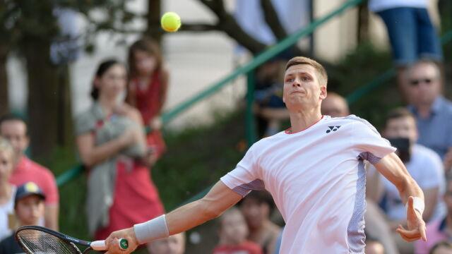 Hubert Hurkacz odpadł w pierwszej rundzie w Halle