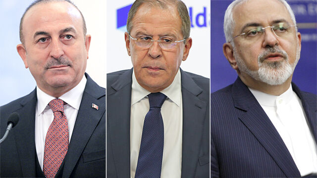 Szefowie dyplomacji Turcji, Rosji i Iranu na spotkaniu w sprawie Syrii