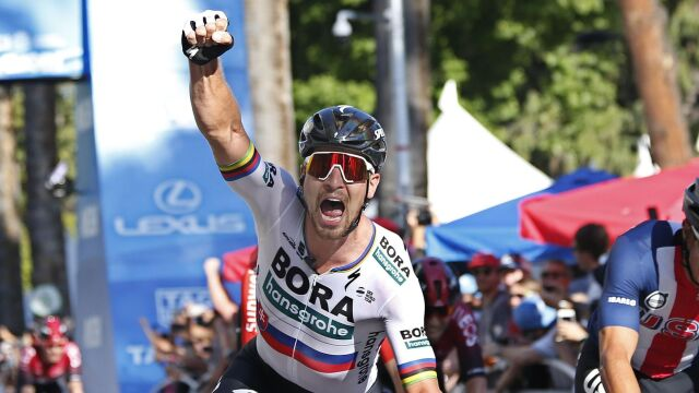 Peter Sagan wygrał pierwszy etap Tour of California