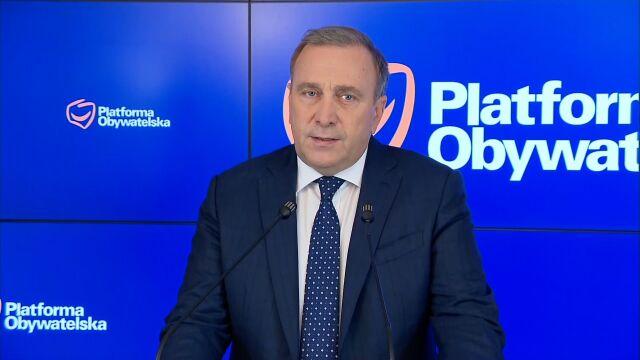Schetyna: klub PO nie będzie uczestniczył  w Zgromadzeniu Narodowym