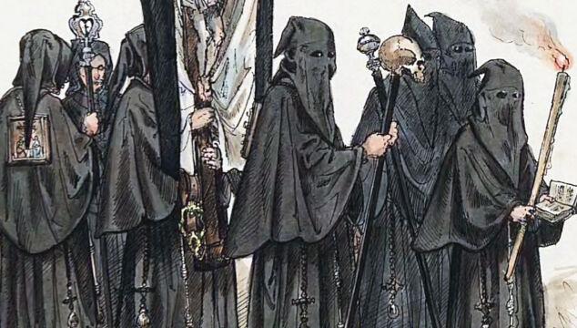 Arcybractwo Dobrej Śmierci na rycinie
