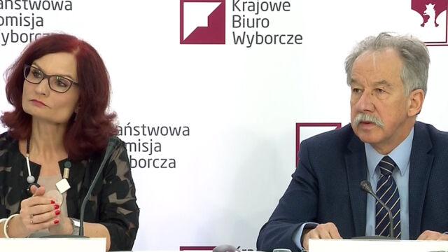 Dane PKW z 11:30 z wyborów do rad powiatów oraz sejmików