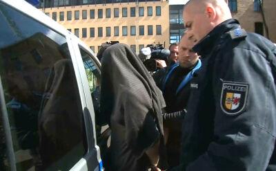 Porywacz Mai w drodze do sądu