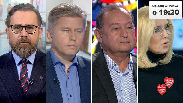 """Bartłomiej Przymusiński, Marcin Matczak, Bohdan Maruszewski i Agata Młynarska gośćmi """"Faktów po Faktach"""""""