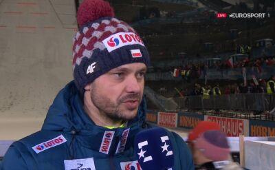 Michal Doleżal po Turnieju Czterech Skoczni