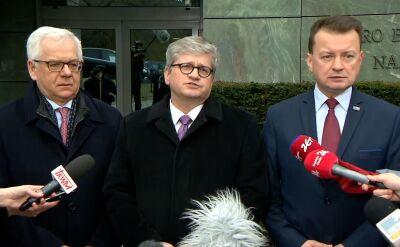 Soloch: prezydent i premier wspólnie monitorują sytuację