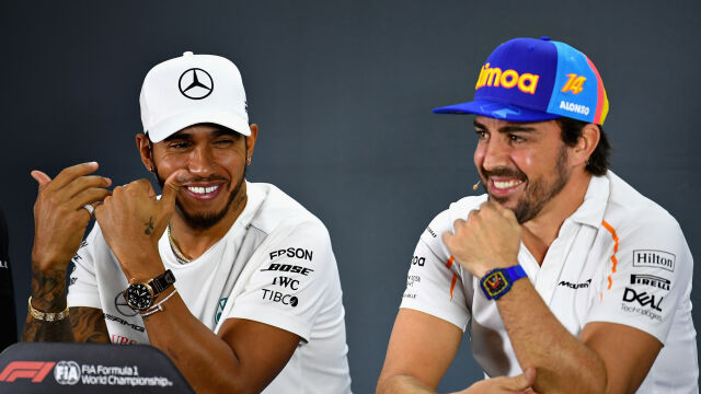 Alonso docenia klasę Hamiltona. Jednego kierowcę stawia jednak wyżej