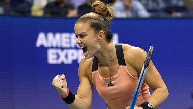 Sakkari ma drugi wielkoszlemowy półfinał. Tworzy historię greckiego tenisa