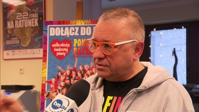Owsiak o tragedii we Włocławku: Sprzęt jest. Zawodzi czynnik ludzki