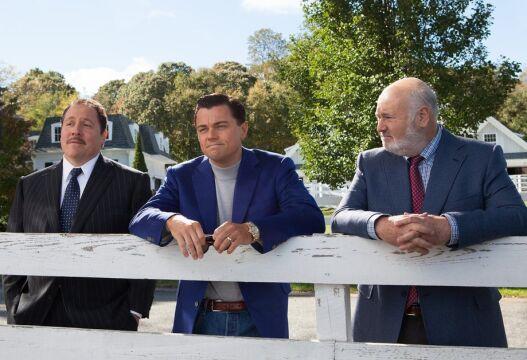 Jon Favreau, Leonardo DiCaprio i Rob Reiner