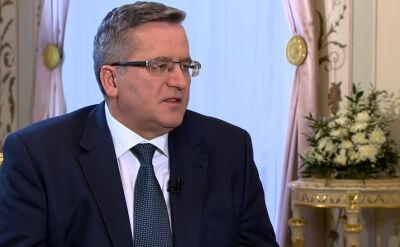 Komorowski o sprawie Trynkiewicza: Trwa wyścig z czasem, Polska go wygra