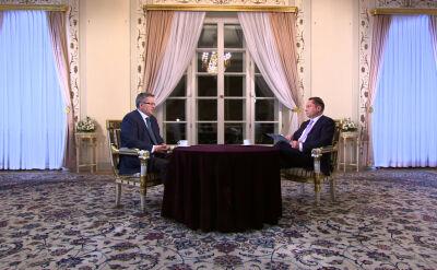 Komorowski: przypadek Trynkiewicza jest szczególny